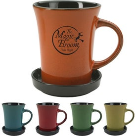 2 Piece Coaster Mug (10 Oz.)