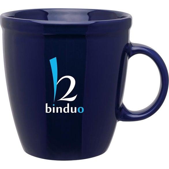 Natural Coffee House Ceramic Mug 18 Oz Logo