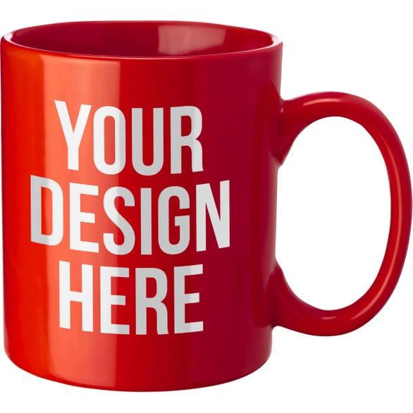 coffee mug 11 oz custom ceramic mugs 1 33 ea