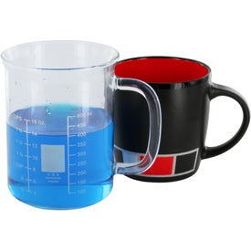 Branded Color Block Ceramic Mug