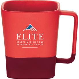Color Step Ceramic Mug for Advertising