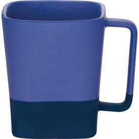Monogrammed Color Step Ceramic Mug