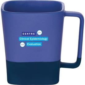 Color Step Ceramic Mug (16 Oz.)