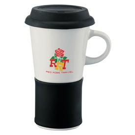 Colorband Ceramic Mug for Advertising