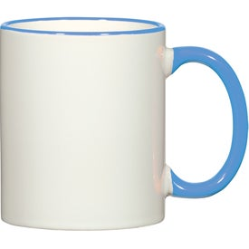 Colorful Trim Mug (11 Oz.)
