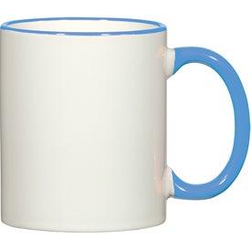 Colorful Trim Mug (11 Oz.)