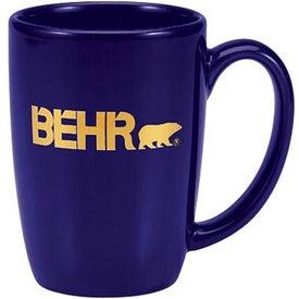 Contour Ceramic Mug for Your Company