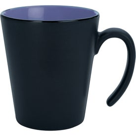 Contrast Mug Imprinted with Your Logo