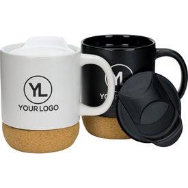 Cork Base Ceramic Mug (14 Oz.)