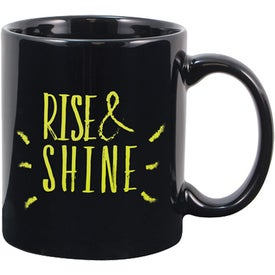 Creative Mug (11 Oz., Black)