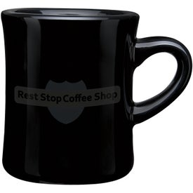 Imprinted CuppaJo Diner Mug