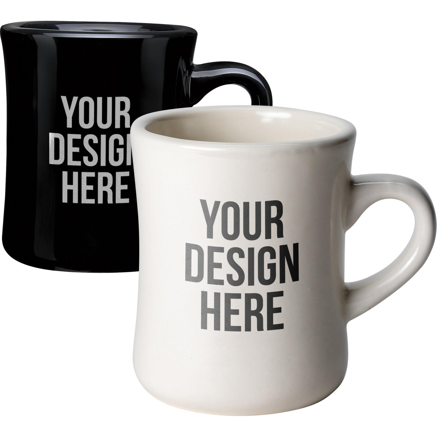 Click Here To Order 12 Oz Cuppajo Diner Mugs Printed With