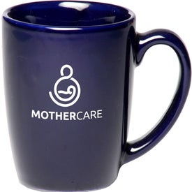 Curved Java Coffee Mug (12 Oz., Colors)