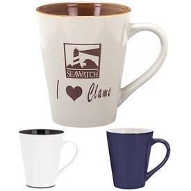 Branded Designer Two-Tone Mug