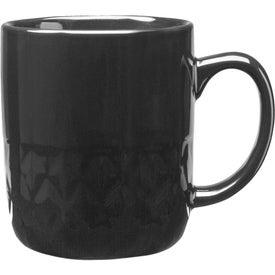 Diamond Ceramic Mug (16 Oz., Colors)