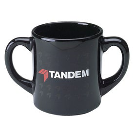 Double Handle Mugs (10 Oz.)