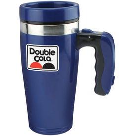 Double Wall Insulated Flashlight Travel Mug (16 Oz.)