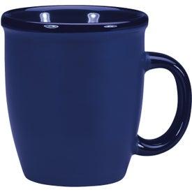 Monogrammed Duo Texture Mug