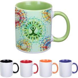 Dye Blast Full Color Mug (11 Oz.)