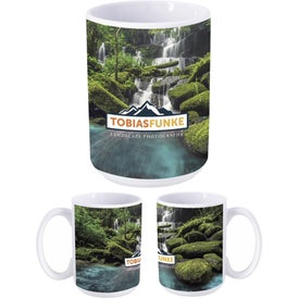 Dye Sublimation Mug (15 Oz.)