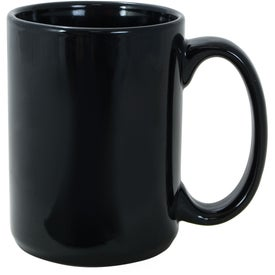 El Grande Ceramic Mug (15 Oz., Black)
