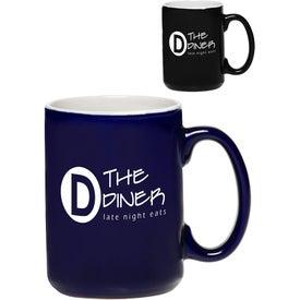 El Grande Two-Tone Glossy Coffee Mug (15 Oz.)