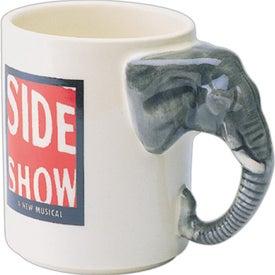 Elephant Mug Printed with Your Logo