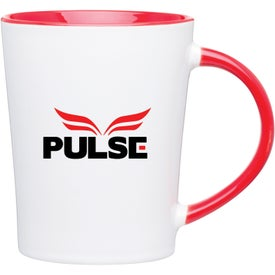 Emma Glossy Ceramic Mug Imprinted with Your Logo