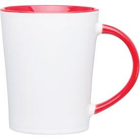 Emma Glossy Ceramic Mug for Marketing