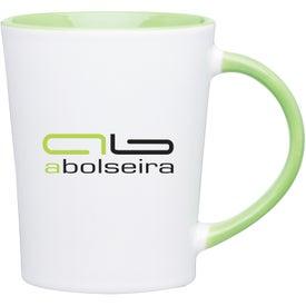 Emma Glossy Ceramic Mug with Your Logo