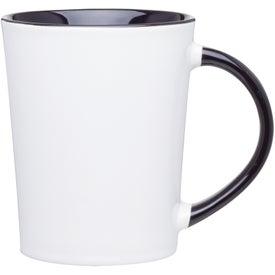 Monogrammed Emma Glossy Ceramic Mug