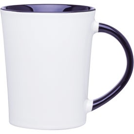 Emma Glossy Ceramic Mug for Advertising