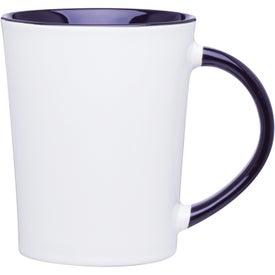 Emma Glossy Ceramic Mug for Advertising
