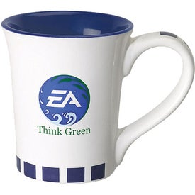 Flick Ceramic Mug Imprinted with Your Logo