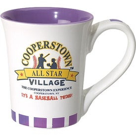 Flick Ceramic Mug Branded with Your Logo