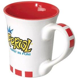 Flick Ceramic Mug with Your Slogan