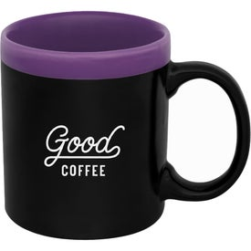 Glam Two-Tone Matte Coffee Mug (11 Oz.)