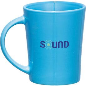 Monogrammed Global Ceramic Mug