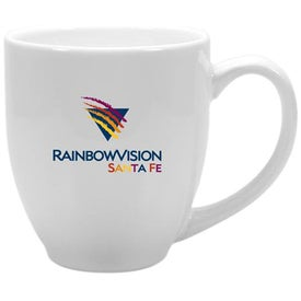 Glossy Bistro Mug (15 Oz., Light Colors)