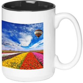 Glossy Two-Tone Photo Mug (15 Oz.)