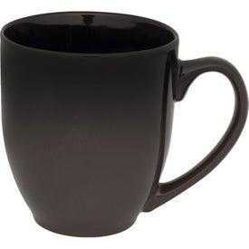 Gradient Ceramic Bistro Coffee Mug (16 Oz.)
