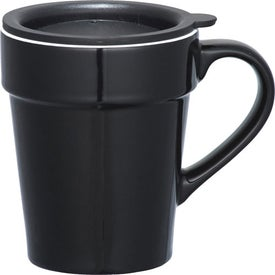 Branded Habanera Ceramic Travel Mug