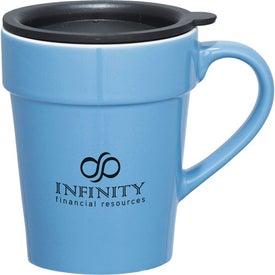 Habanera Ceramic Travel Mug for Advertising