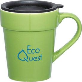 Personalized Habanera Ceramic Travel Mug