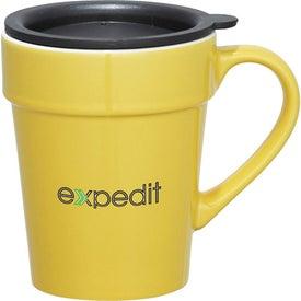 Habanera Ceramic Travel Mug with Your Logo