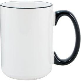Heartland El Grande Ceramic Mug (15 Oz., Black )