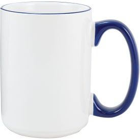Heartland El Grande Ceramic Mug (15 Oz., Cobalt)