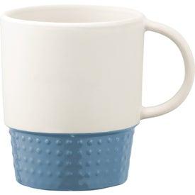 Promotional Hobnail Ceramic Mug