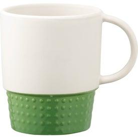 Customized Hobnail Ceramic Mug