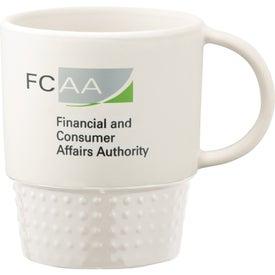 Advertising Hobnail Ceramic Mug